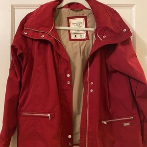 FLASH SALE❗️Abercrombie and Fitch Rain Jacket